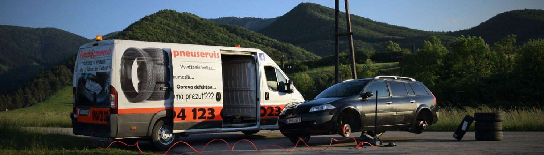 Mobile tire repair service Žilina – NONSTOP